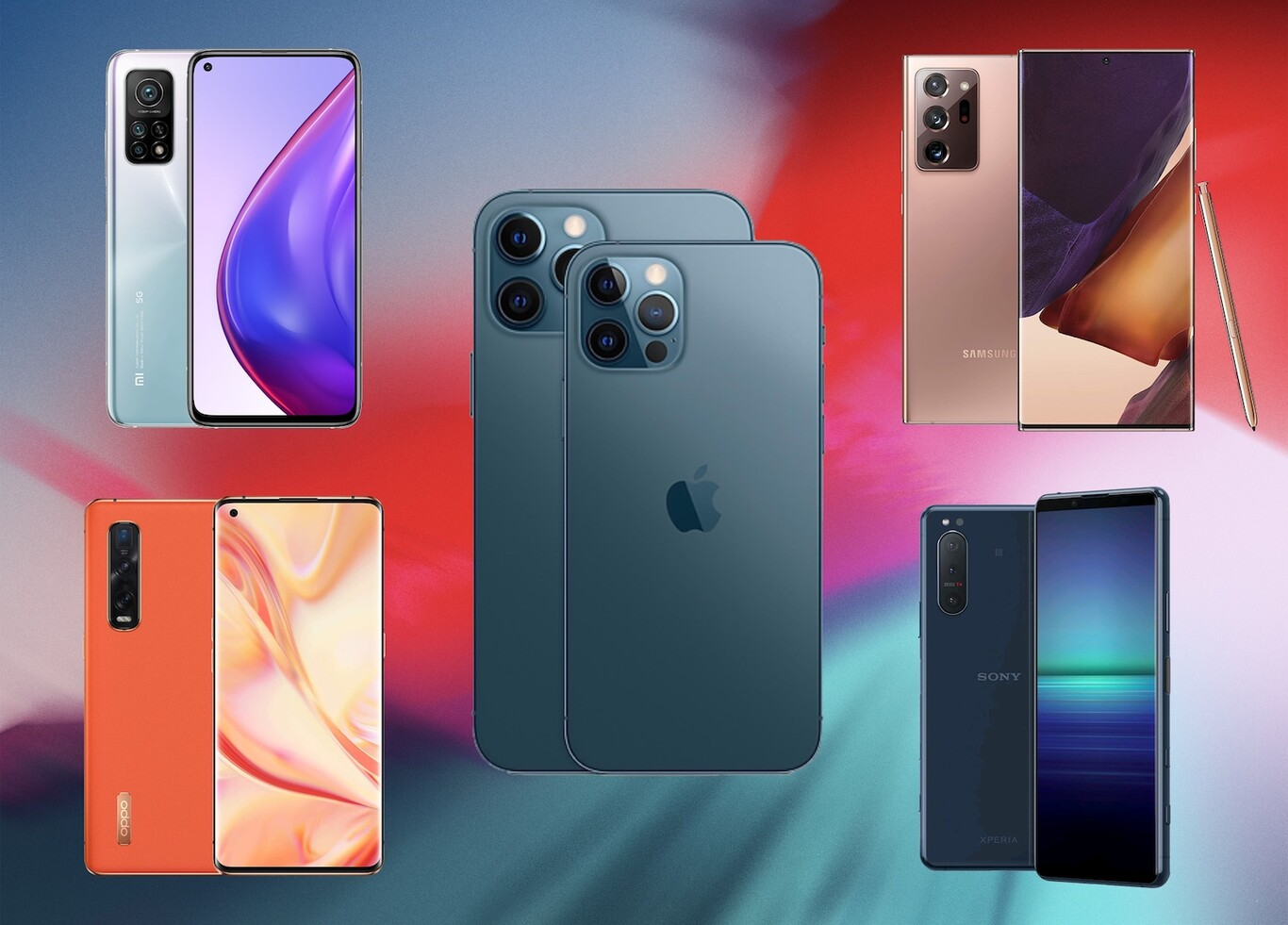 Teléfonos que se esperan para la última fase del año 2021