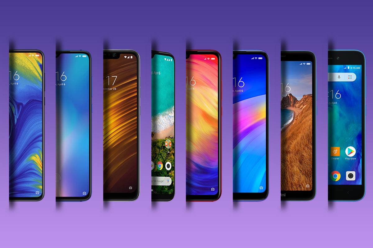 Las diferentes gamas de Xiaomi